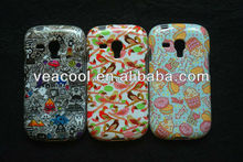 Flower Soft TPU Phone Case Cover Skin for Samsung Galaxy S3 mini i8190 case