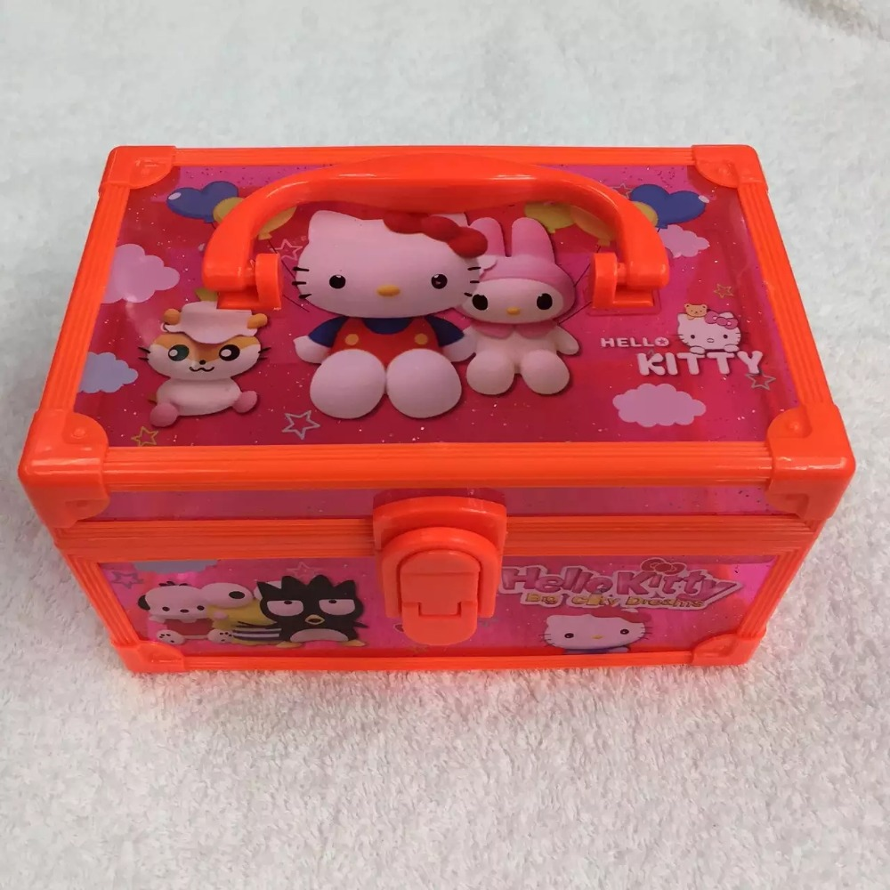 Cute Cartoon Desk Storage Box Frozen Basket Holder Cosmetic Stationery bags cosmetic gift box