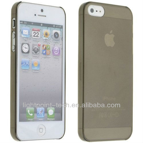 "2013 New 0.5mm 0.3mm Ultrathin case for iphone 5"" case, PC cover"