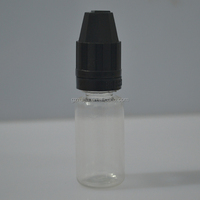 Small Empty plastic essential oil bottle Cosmetic Sample Containers
