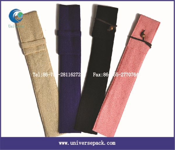 Small velvet Pen bag wholesale