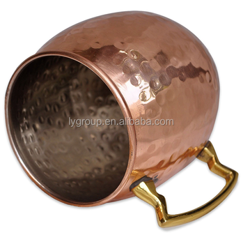 480ml beer mug,Hammered Dutch Style moscow mule copper mug,copper moscow mule mug, Handmade Pure Copper Hammered Moscow Mule Mug