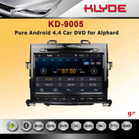 "Pure 4.4.2 Android system dual-core car dvd with Radio, BLUETOOTH,MP3,MP4 for 9""ALPHA"