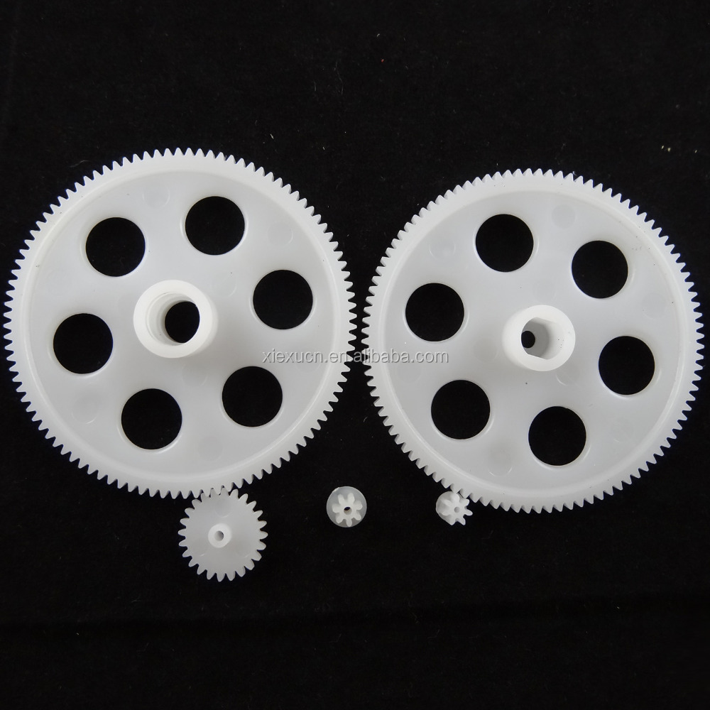 Customized plastic injection mold worm gear, injection product plastic gear electric motor