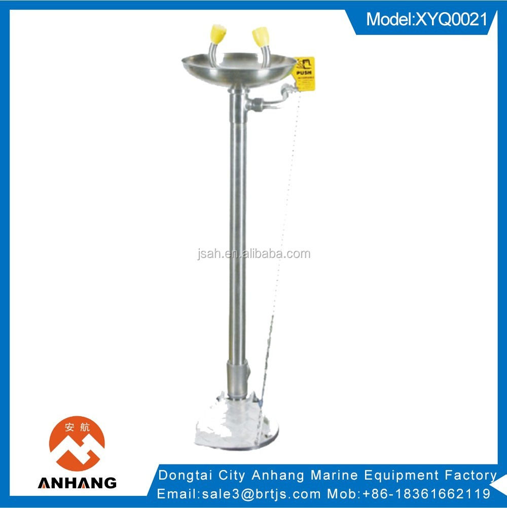 Manufacturer!!! ABS Stand Combination Emergency Eyewash Station