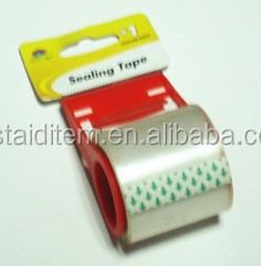 packing tape/statinery tape with dispenser sets