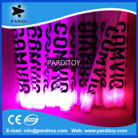 Party supply flashing led foam glow stick