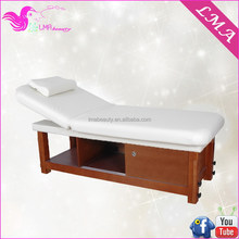 Luxury new arrival wooden salon furniture hydraulic massage table MD48