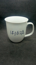 Wholesale from China factory supply top quality and hot sale white decals for porcelain ceramic coffee mug with handle