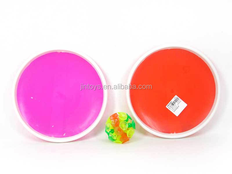 Kids Toys Plastic Solid Color Sucker Ball , Acetabula Ball for wholesale, Sport Toys for children, EB025992