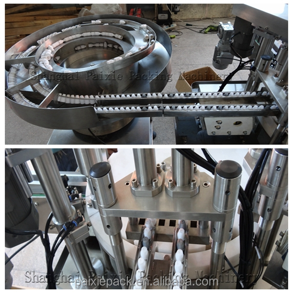 CE standard , china small bottle e-liquid filling capping machine