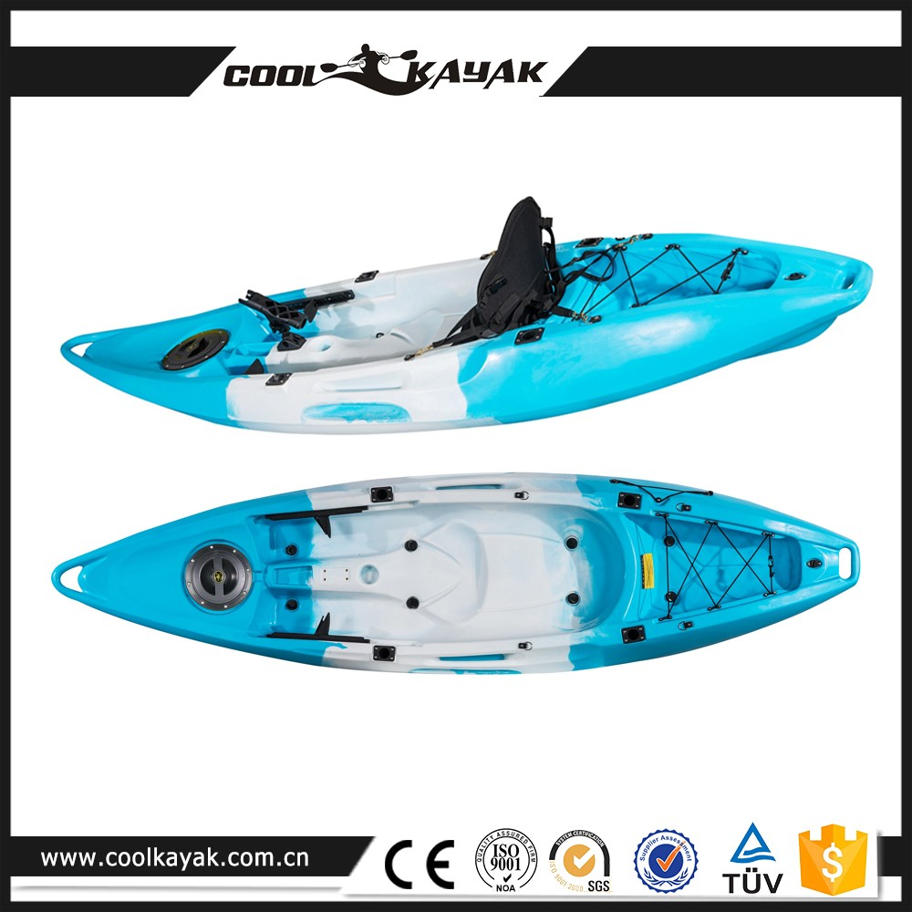 2017 China wholesale cheap plastic fishing kayak for two person