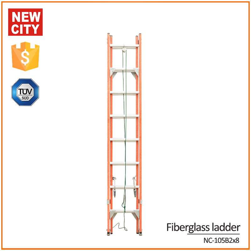 Safety 2 section attic ladder, werner ladder,telescopic ladder 6m