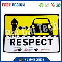 Self-adhesive waterproof decoration custom printed vinyl car window decal, removable car sticker