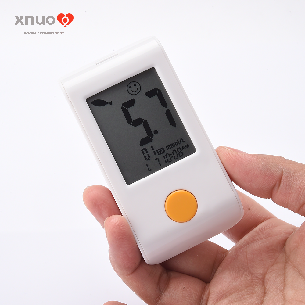 Manufacturer price high quality automatically test medical blood glucose meter