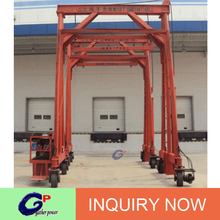 Hot Sale Container single pipe small mobile container cranes boat lifting crane