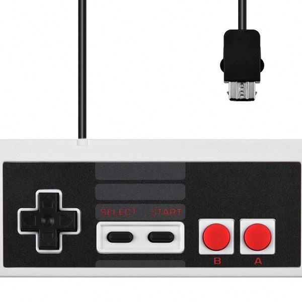 For Nes Mini Wired Gamepad For Super Nintendo