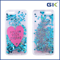 [GGIT] With Love Pattern Liquid Quicksand TPU+PC Phone Case For IPhone 6 Back Cover