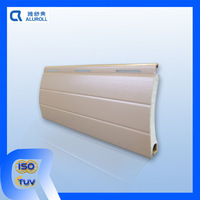 aluminum foam filled slat for rolling shutter windows or doors