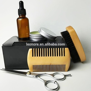 Private Label Beard Care Gift Set Beard Grooming Kit for men