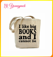 Wholesale Standard Size cotton canvas tote bag long handle