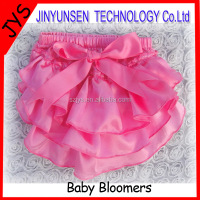 hot sale baby pink ruffled bloomers solid color baby bloomers IN STOCK NO MOQ