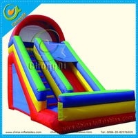 china inflatable pvc slide