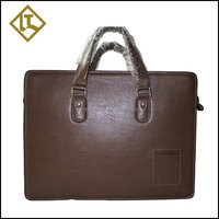 High end genuine leather hard briefcase,hard briefcase,handy portable laptop briefcase