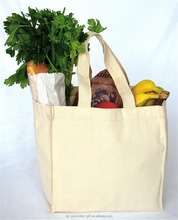 New Cotton Plain Canvas Tote fabric grocery bags