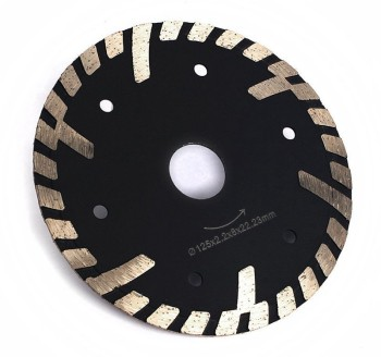 contour diamond saw blade for cutting granite
