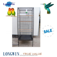 big bird parrot cage steel round cages