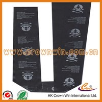 Cheap clothing logo fabric tag manufacturer