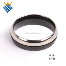 High quality fahsion jewelry design mens titanium ring core