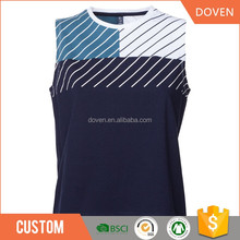 Sexy ladies smart stripes fitness tank top