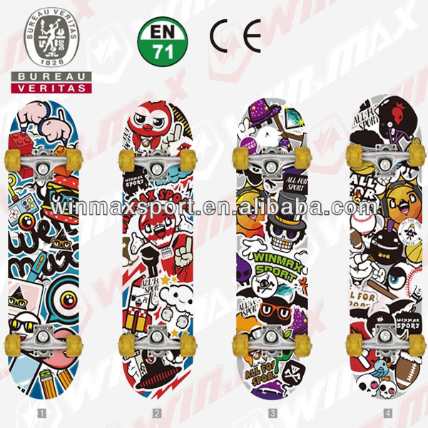 canadian maple skateboard deck,canadian maple blank skateboard decks,plastic longboard with CE,