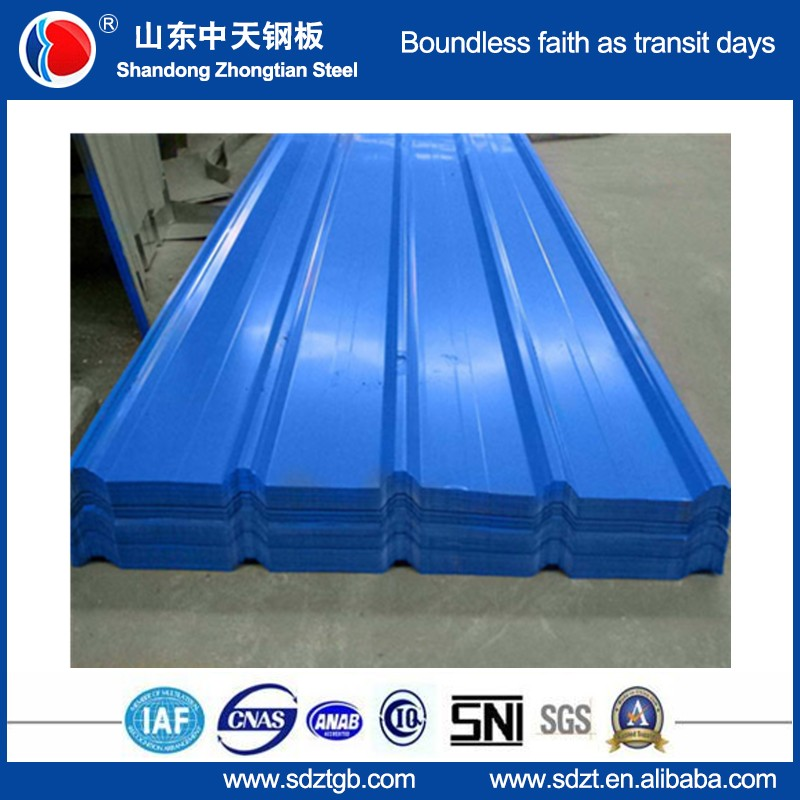 buliding material roofing sheet zinc/aluzinc/color coated steel sheet