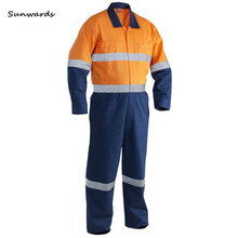 flame retardant coverall workwear construction