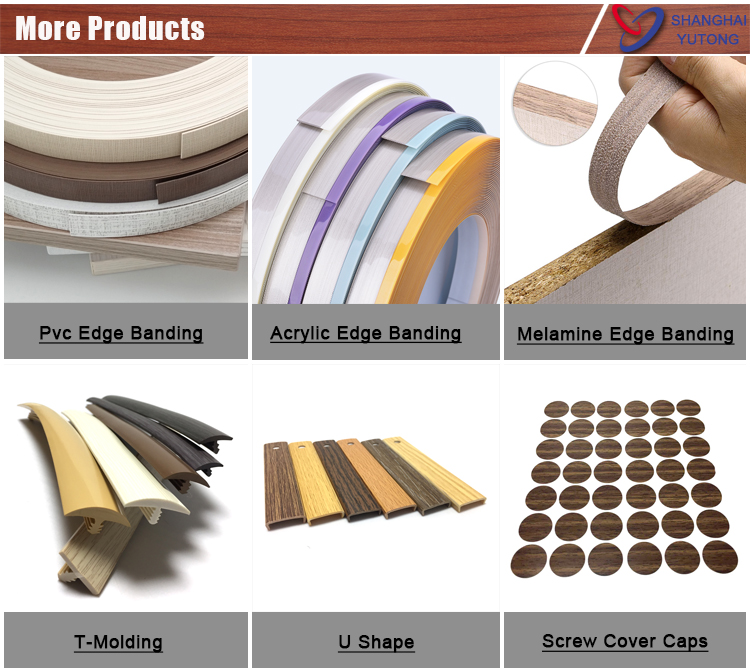 abs/acrylic edge banding tape rolls furniture accessory with flexible high quality