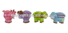 2015 chinese zodiac cartoon sheep promotional resin 3d fridge magnet