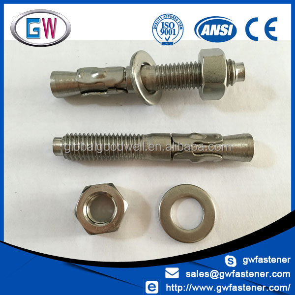 SS304 SS316 m20 m16 m14 m12 anchor bolt price