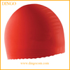 Professional promotional eco-friendly silicone swim cap