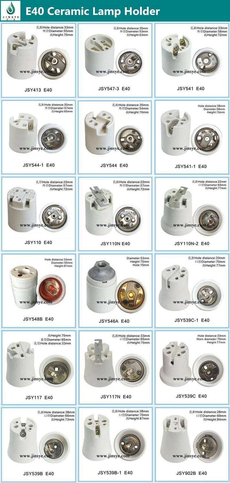 e40 ceramic porcelain lamp holder socket types, View e40 socket ... for Lamp Holder Types  150ifm
