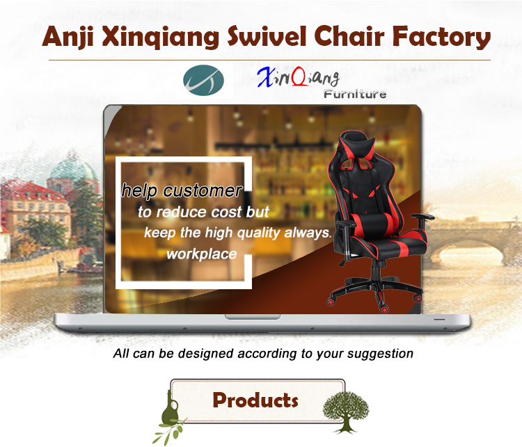 XQ-6229 High Back Chair Gaming Video Game Chair Custom Gaming Racing Office Chair