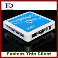 China Manufacturer: 32 Bit Network PC Share Terminal with 3 USB 2.0, Microphone, WIFI, Touchscreen, WIN 7/VISTA supported