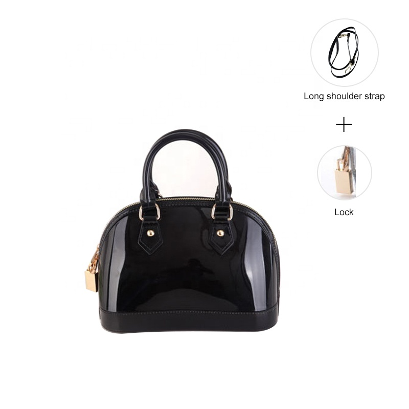 Hot Selling New Style Waterproof Silicone Jelly Women Bags Handbag