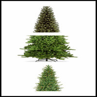 Festival Wholesale Solar Powered Christmas Tree
