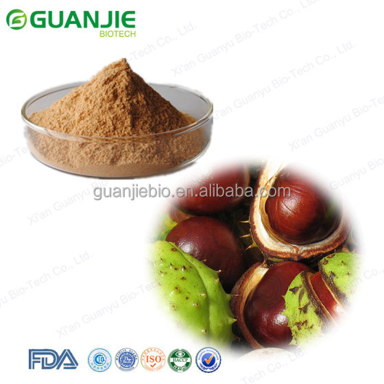 2016 GMP factory Wholesale horse chestnut, herbal extract horse chestnut extract, High quality horse chestnut powder