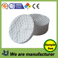 China OEM manufacture cotton facial round pads