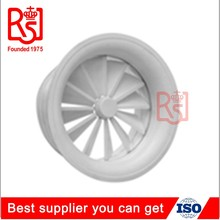 HVAC Round Aluminum Adjustable Ceiling Air Conditioning Grille Round Vent Air Swirl Diffuser