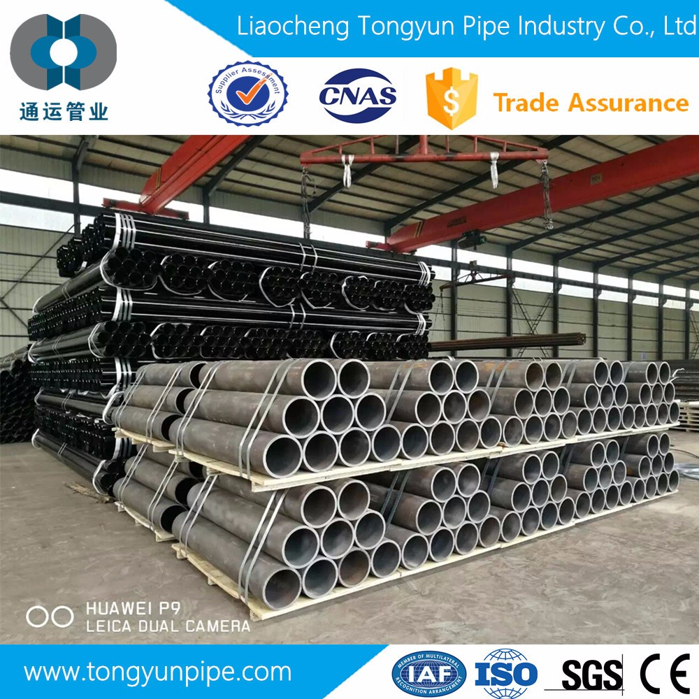 ansi b 36.10 / astm a106 gr b carbon steel seamless pipe